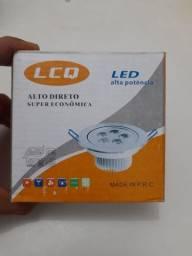 Luminária Spot Led LCQ 3w, 5w e 7w- Variadas R$ 25- Promoção