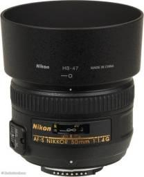 Lente Nikon 50mm f/1.4G