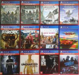Kit 12 Jogos PS4 Playstation 4