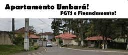 Apartamento à venda com 2 dormitórios em Umbará, Curitiba cod:14
