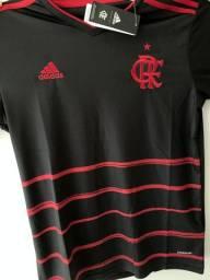 Camisa Flamengo - Preto - Masculino - Envio por Sedex
