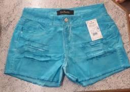 Shorts Jeans La Port Feminino Verao