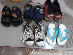 Lotinho de sapatos de e 1 a 3 anos