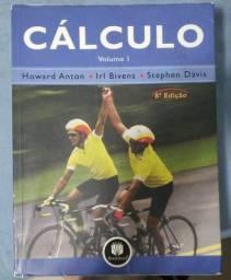 Cálculo Volume 1 e 2 Howard Anton 8ª Edição Livro