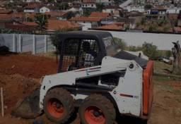 Minicarregadeira Bobcat S450 ano 2014, em São Paulo