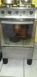Vendo fogão 4 bocas inox