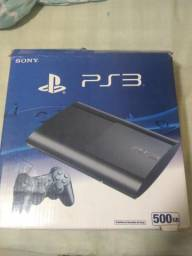 PS3 semi novo 500 gigas