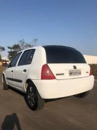 Clio RL - Modelo 2003 - Branco - Impecável