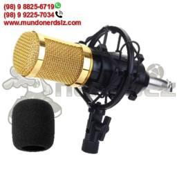 Kit Microfone Condensador Profissional Pop Filter Knup KP-M0010 em São Luís Ma