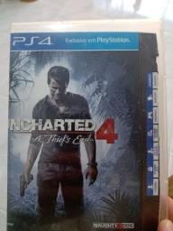 Vendo jogo de PS4 uncharted4