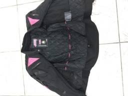 Jaqueta feminina X11 Evo Rosa 100% impermeável