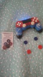 Controle Play Station personalizado Homem Aranha.!