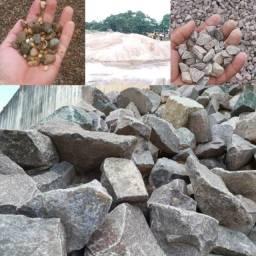 Pedra Brita Pedra Rachão Seixo Areia Da melhor qualidade