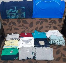 Lote de Camisetas por apenas 50 reais