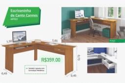 Mesa escritorio em L promoçao 359