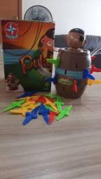 Jogo pula pirata ótimo para brincar com a família
