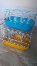vende-se duas gaiolas de hamster