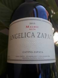 Vinho Angélica Zapata Malbec Alta 2015