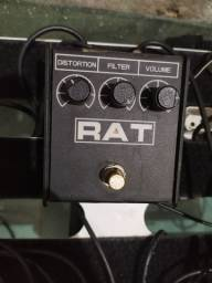 Pedal distorção rat