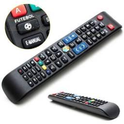 Controle Remoto Tv Samsung Smart Vc 8083 Função Futebol