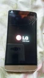 Celular LG l.prime pra consertar ou retirar peças. Não pega chips.