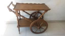 Carrinho de madeira antigo, aceito proposta