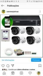 Sistema de Cameras câmeras de segurança
