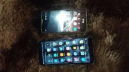 400 vendo 2 celulares j4core e um lg volt
