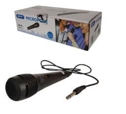 Microfone Com Fio Karaoke Dinâmico De Mão Alta Qualidade