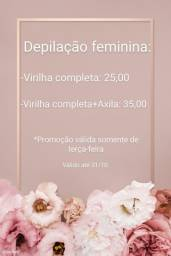 Depilação feminina