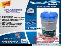 Refil Purificador Leaf Original 5 Etapas De Filtragem-Entrega e Troca Grátis