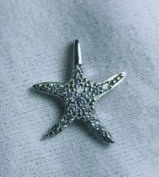 Pingente Estrela do Mar prata de Lei 925