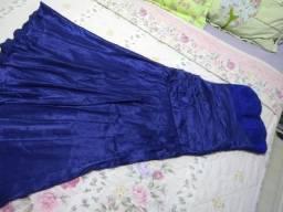 Vestido festa longo azul royal Tam. 38/40