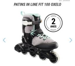 Patins in LINE for 100 oxelo