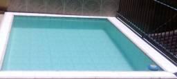 Casa duplex c/15 cômodos área de lazer e piscina
