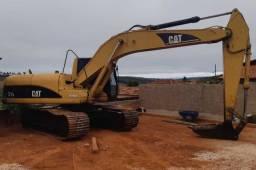 Escavadeira Caterpillar 320C Ano 04/04 entrada R$ 18.000,00
