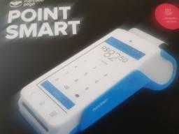 Point smart maquininha imprime