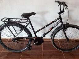 Vendo essa bicicleta poti 200 entrego.