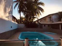Casa 4/4 com piscina temporada  50  mt da praia *