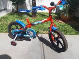 Bicicleta semi nova aro 16