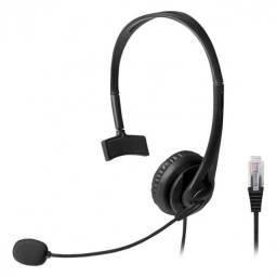 fone headset conector rj09 para telemarketing ph251