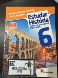 Livro de história ?estudar história? 6° ano