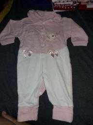 Lote de roupas bebê (menina )
