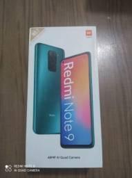 Super promoção Xiaomi Redmi Note 9... Novo na caixa lacrado!