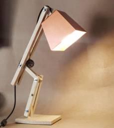 Luminaria de mesa artesanal modelo BALI