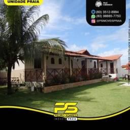 Casa com 5 dormitórios à venda por R$ 550.000 - Cidade Balneária Novo Mundo I - Conde/PB