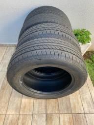 Vendo 04 pneus 255/60/18
