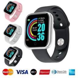 Relógio Smartwatch Inteligente Bluetooth D20 Y68 novo apartir 69.90