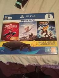 Playstation 4 na caixa troco