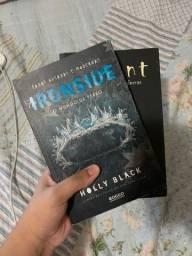 Livros Volumes 2 e 3 da trilogia fadas ousadas e modernas da Holly black